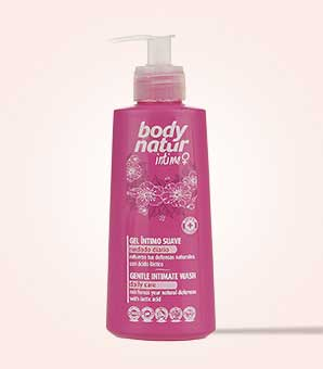 ژل بهداشتی ملایم بانوان بادی ناتور body natur Body Natur Intime Gentle Wash Syndet Liquid For Women 200ml